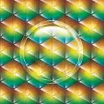 Triangular background — Stock Vector #70985815