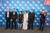 Adam Tsekhman, Meshi Olinski, Sara Adler, Amos Gitai, Aleksey Kochetkov — Stock Photo