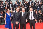 Lisa Muskat, Al Pacino, David Gordon Green, Chris Messina — Stock Photo