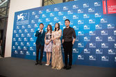 Zhao Wei, Hao Lei, Zhang Yi and Tong Dawei — Stock Photo