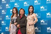 Peter Chan, Hao Lei and Zhao Wei — Stock Photo