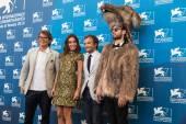 Gregory Bernard, Elodie Bouchez, Jonathan Lambert — Stock Photo
