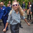Franca Sozzani - Milan Fashion Week Spring Summer 2015 — Stock Photo #53648843