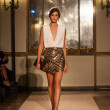 Elisabetta Franchi - Milan Fashion Week Spring-Summer 2015 — Stock Photo #53927863
