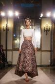 Elisabetta franchi - tydzień mody milan Odzież damska wiosna 2015 — Zdjęcie stockowe