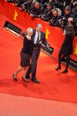 Guests attends the 65th International Berlin Film Festival — Stock Photo