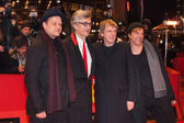 Campino, Andreas Meurer, Director Wim Wenders and Andreas von Holst — Stock Photo