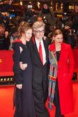 Laura Schmidt, director Wim Wenders and wife Donata Wenders — Stock Photo