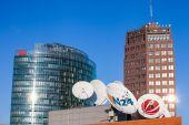 City view of Berlin — Stock Photo