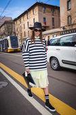 Fendi fashion show at the Milan Fashion Week — Stock Photo