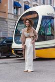 Gucci Fashion show at the Milan Fashion Week — Foto de Stock