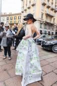 Desfile de Gucci en la semana de la moda de Milán — Foto de Stock