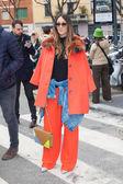 Ver Emporio Armani en la semana de la moda de Milán — Foto de Stock