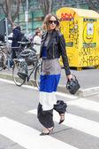 Emporio Armani show at the Milan Fashion Week — Stock Photo