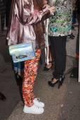 Desfile iceberg en la semana de la moda de Milán — Foto de Stock