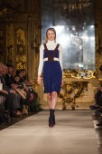 Chicca Lualdi show at the Milan Fashion Week — Stock Photo