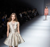 Genny show at the Milan Fashion Week — 图库照片