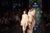 Aigner show at the Milan Fashion Week — ストック写真