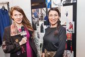 Elisabetta Franchi show at the Milan Fashion Week — Stock Photo