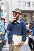 Milan Men's Fashion Week — Stock Photo