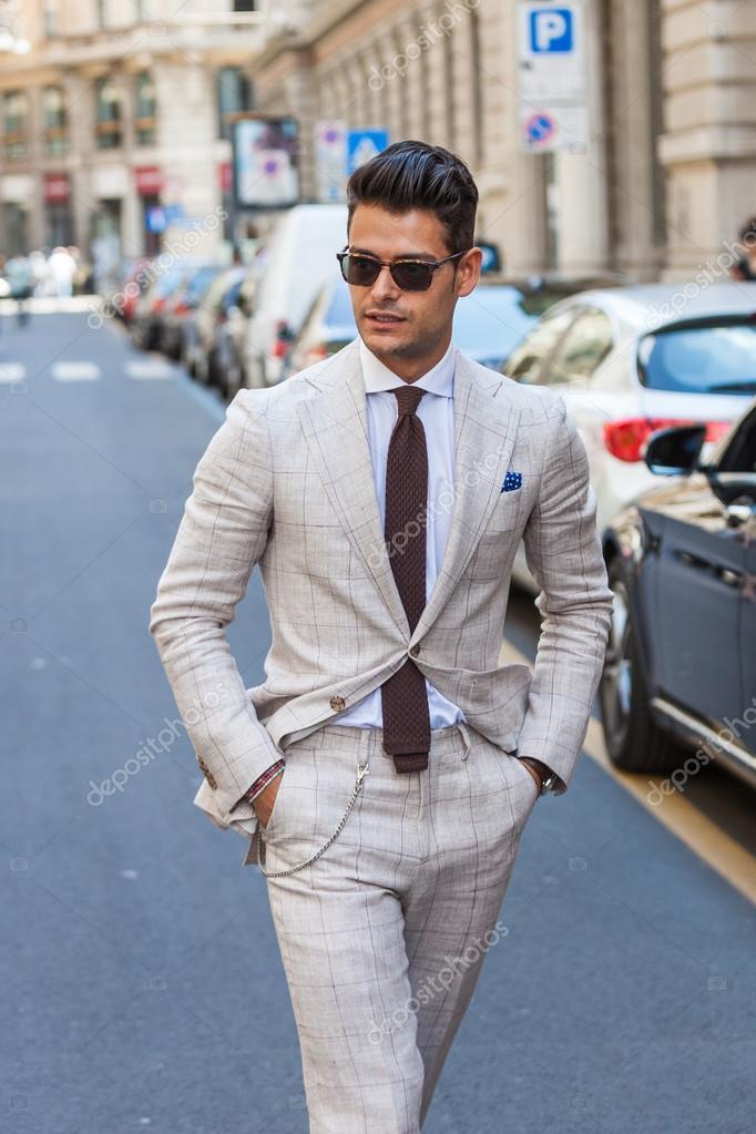 Semana de la moda de Milán hombre \u2014 Foto de Stock 76050157