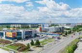 "Disctrict  "" Vagonka"" the city of nizhny tagil — Stock Photo"