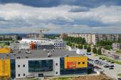 "Disctrict  "" Vagonka""  of city  Nizhny Tagil — Stock Photo"