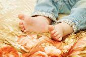 Cute baby feet  — Stock Photo