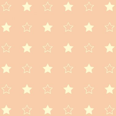 Green pattern with stars.