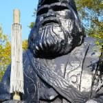 God Statue of Ainu Village in Hokkaido, Japan — Stock Photo #60060949