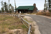 Ranger station — Stockfoto