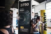 Nikon Live held in Milan — Stockfoto