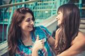 Young women sisters friends — ストック写真