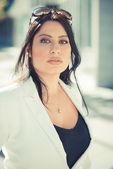 Elegantní obchodní žena — Stock fotografie