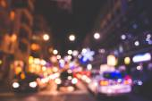 Blurred bokeh milan city — Stock Photo