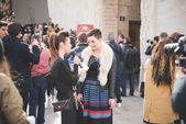 Milan Fashion week, Italy — Stock Photo