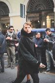 People during Milan Fashion week — ストック写真