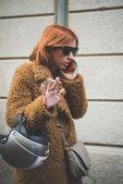 People during Milan Fashion week — Stok fotoğraf