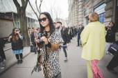 People during Milan Fashion week — Φωτογραφία Αρχείου