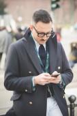 люди в течение миланской недели моды — Стоковое фото