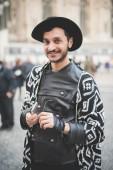 People during Milan Fashion week — Foto Stock