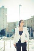 Elegant business woman — Fotografia Stock