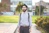 Hipster gay modern man — Fotografia Stock
