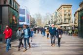 Barcelona city centre — Stock Photo