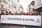 Celebración de la liberación celebrada en Milán — Foto de Stock