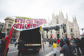 Celebration of liberation held in Milan — Stock Photo