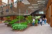 Padiglione del Brasile all'esposizione universale di Milano — Foto Stock