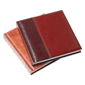 Book in leather-bound. — Stock Photo