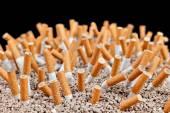 Cigarettes chaos — Stock Photo