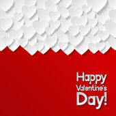 Valentinstag-grußkarte — Stockvektor